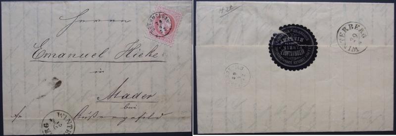 Freimarken-Ausgabe 1867 : Kopfbildnis Kaiser Franz Joseph I - Seite 3 Ank_3710