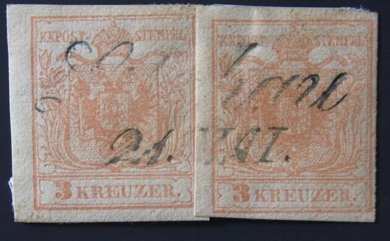 Die erste Österreichische Ausgabe 1850 - Seite 3 Ank_3_13