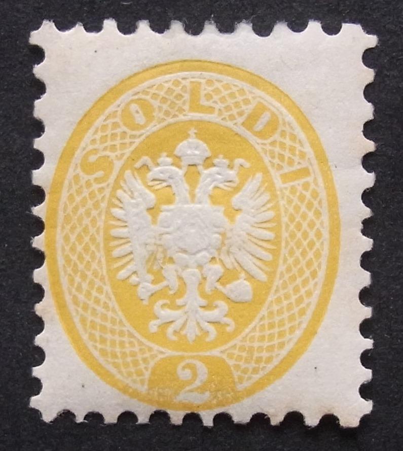 Lombardei-Venetien, Ausgaben 1863 und 1864 Ank_lv19