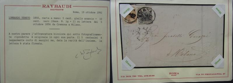 Lombardei - Venetien 1850 - 1858 - Seite 2 Attest16
