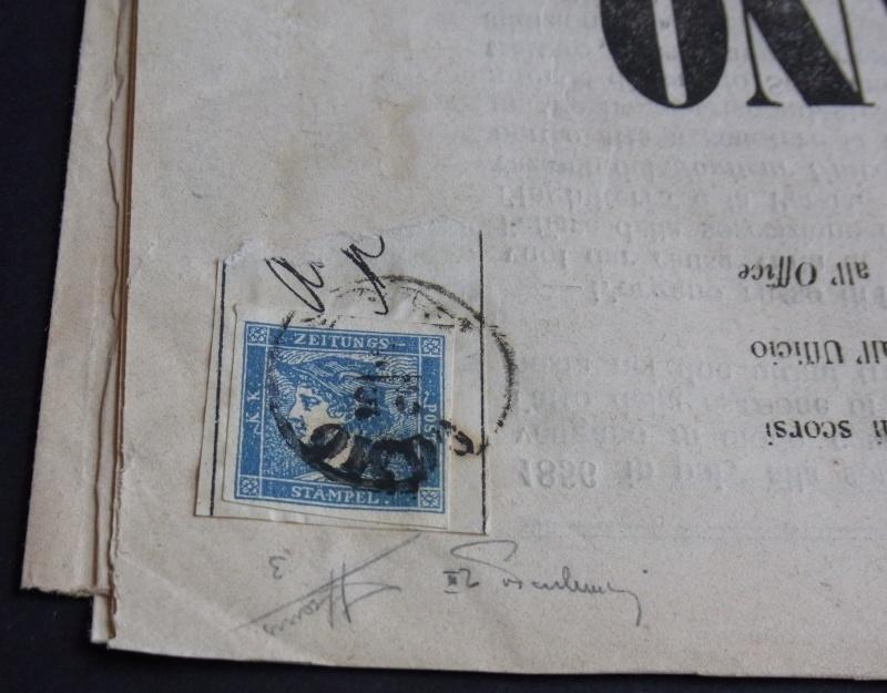 DIE ZEITUNGSMARKEN AUSGABE 1851 Detail11