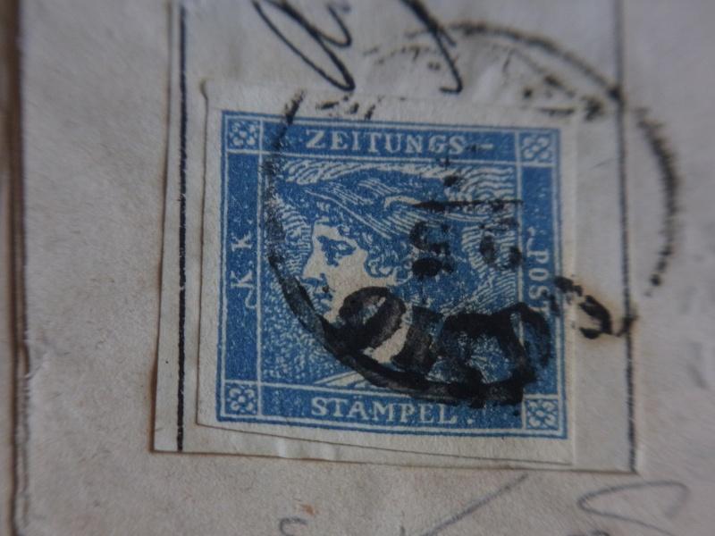DIE ZEITUNGSMARKEN AUSGABE 1851 Detail12