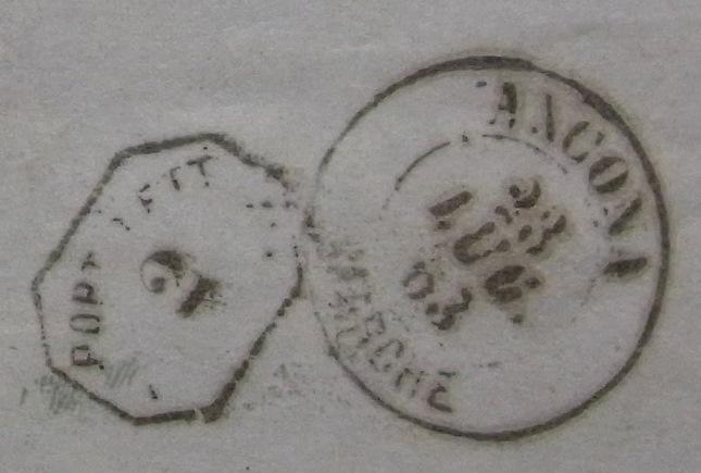 Lombardei-Venetien, Ausgabe 1861/62 Detail14