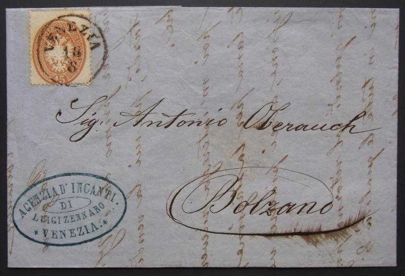 Lombardei-Venetien, Ausgaben 1863 und 1864 Lv-bri10