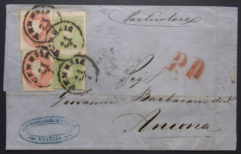 Lombardei-Venetien, Ausgabe 1861/62 Rimg0073