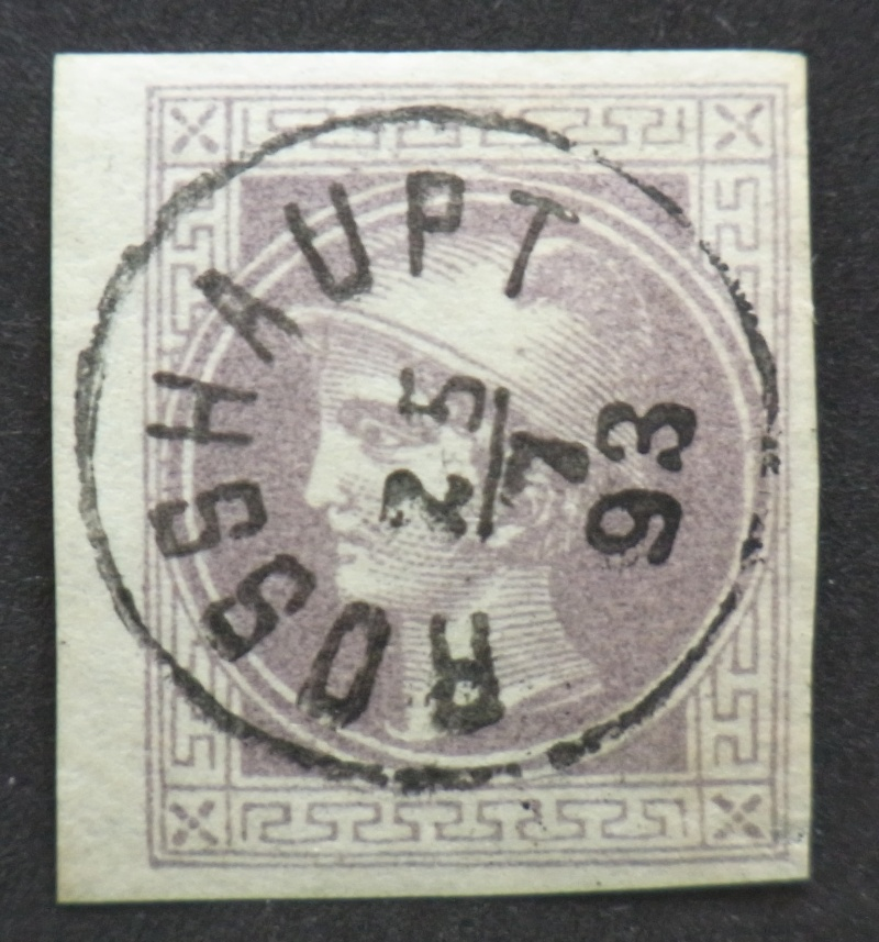 DIE ZEITUNGSMARKEN AUSGABE 1867 Rimg0083