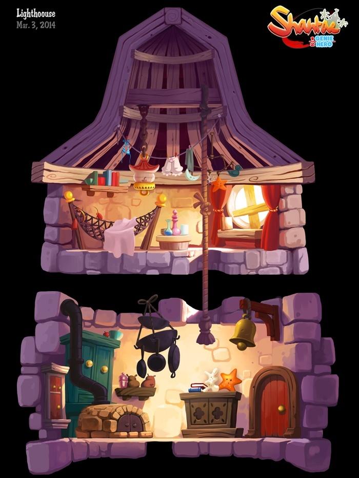 Shantae's Lighthouse - What's inside? 70634010