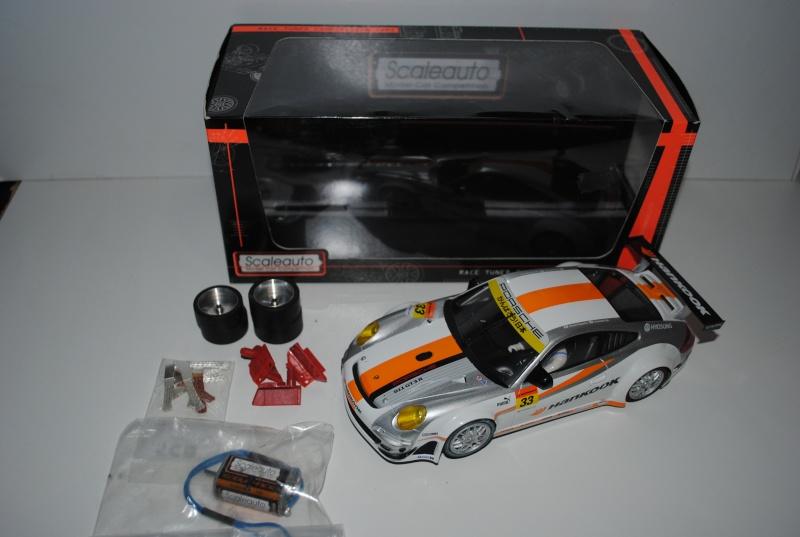 Porsche 997 GT3 Scaleauto 1/24 + pce de rechange VENDU, Merci Dsc_0410