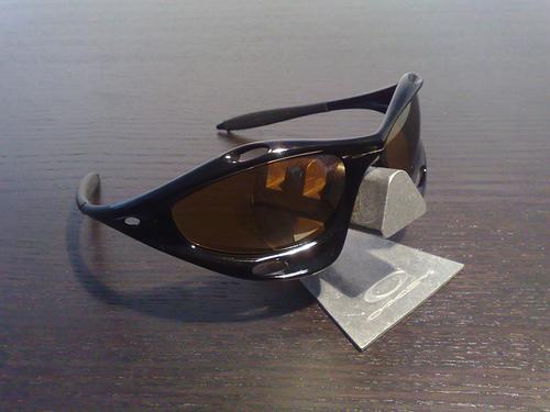 Lunettes Oakley Racing Jacket Jet Black/Gold Iridium 31988511