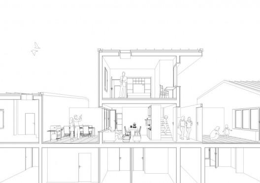 Coupe-perspective sur AutoCAD Architecture 2014 Sectio11