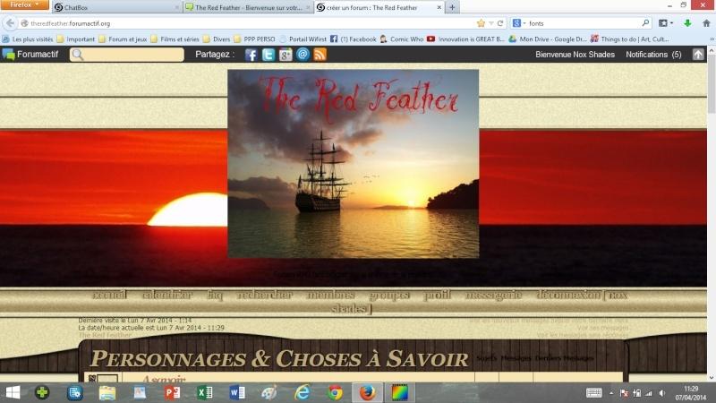 La page d'accueil et la bannière - esquisses Accuei12