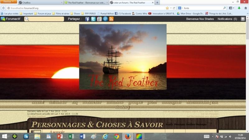 La page d'accueil et la bannière - esquisses Accuei13