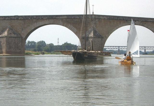 croisières en canoe à voile Canoev11