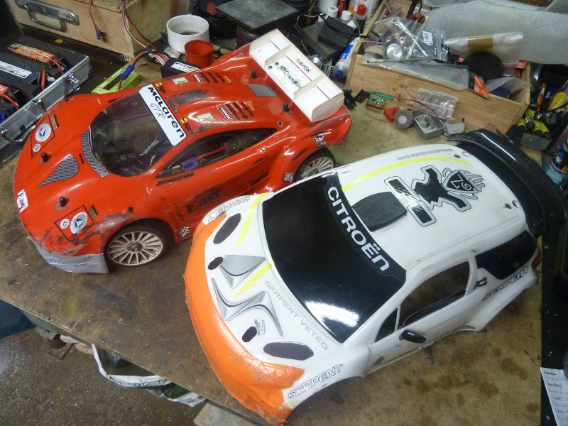 [Vend] Hobbytech STR8 châssis perso avec option Spirit P1040712