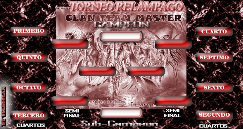 Fixture para Cualquier Torneo Relampago Relamp10