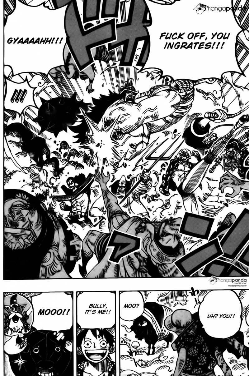 One Piece Kapitel 748: Meine  Rückzahlung 1310