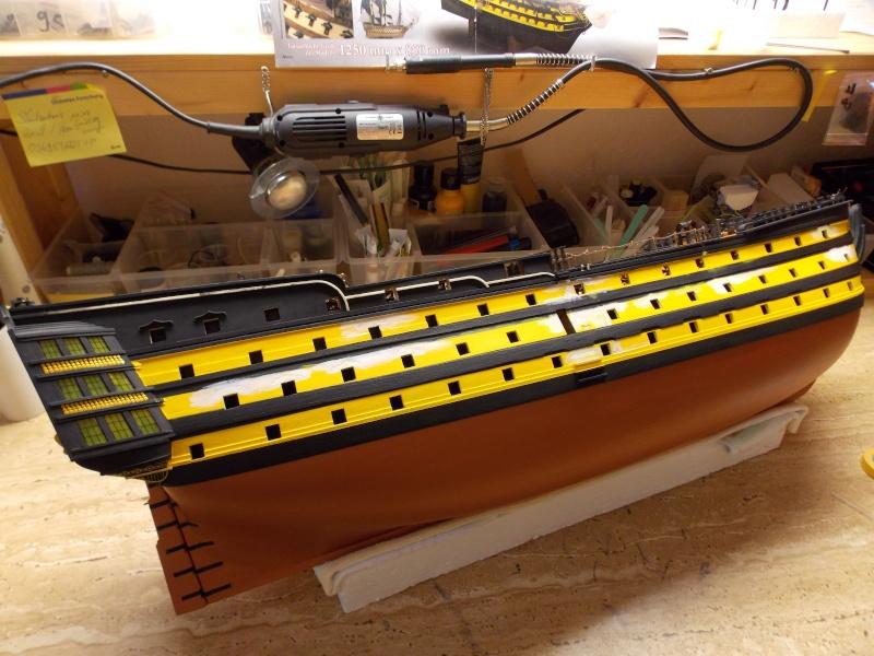 Bau der Victory in 1:84 von Admiral ENDRIK 12810