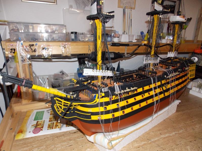 Bau der Victory in 1:84 von Admiral ENDRIK 20410