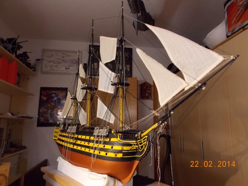 Bau der Victory in 1:84 von Admiral ENDRIK 23110