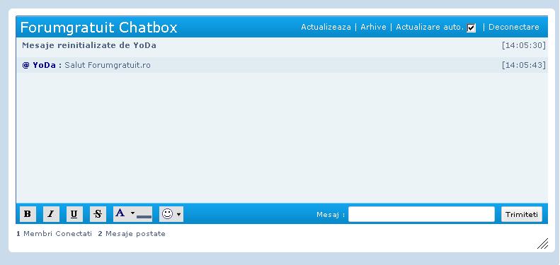 Automatizarea conectarii la chatbox si modificarea titlului acestuia Snapsh17