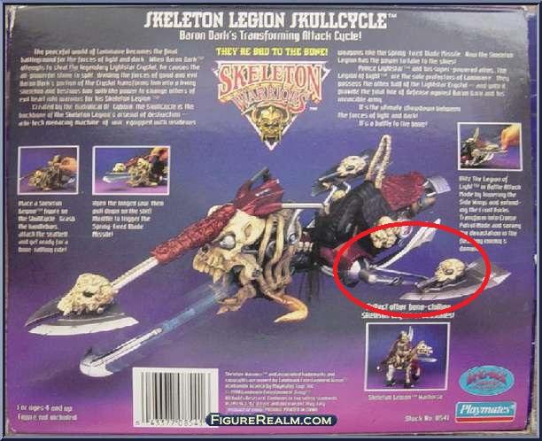 cerco alette laterali Legion Skullcycle della serie skeleton warriors Skullc10