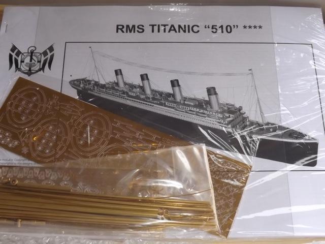 titanic - TITANIC 1:144 di BILLING BOATS T311