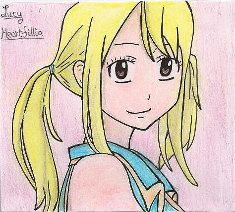 Mes dessins de Fairy Tail Lucy_h10