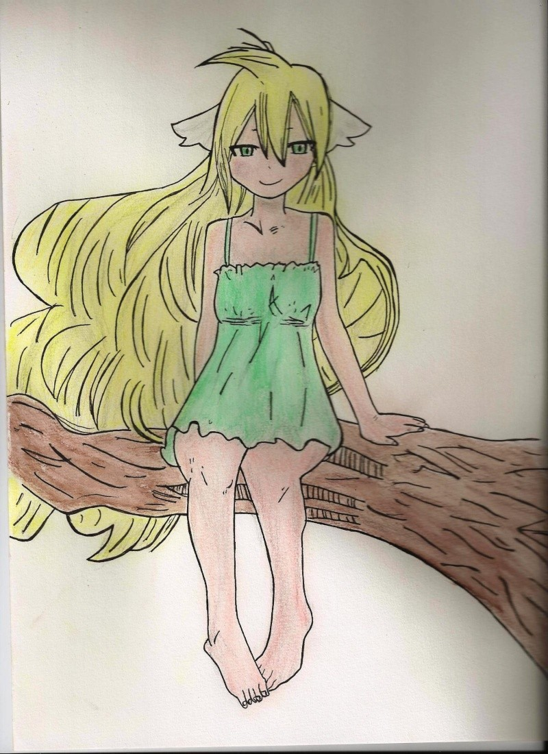 Mes dessins de Fairy Tail Mavis_10