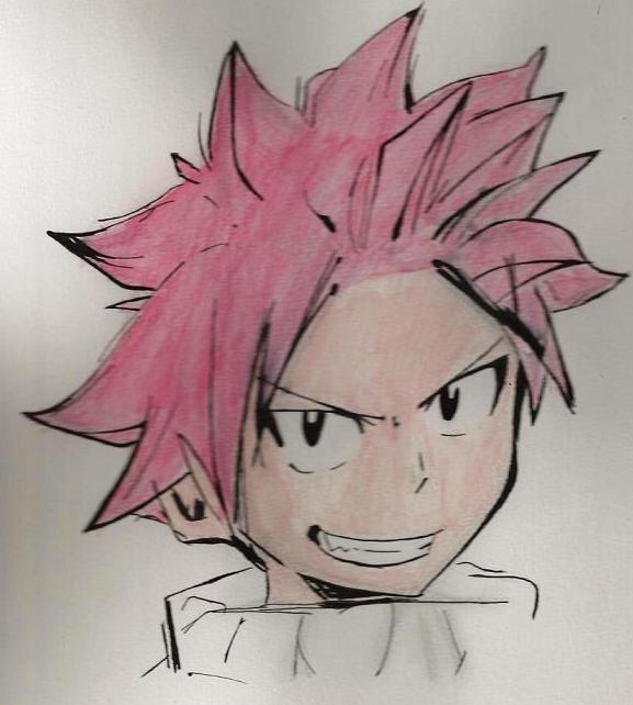 Mes dessins de Fairy Tail Natsu310