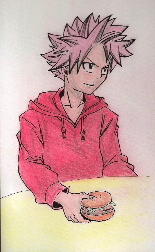 Mes dessins de Fairy Tail Natsu_13