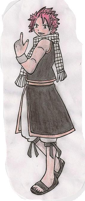 Mes dessins de Fairy Tail Natsu_14