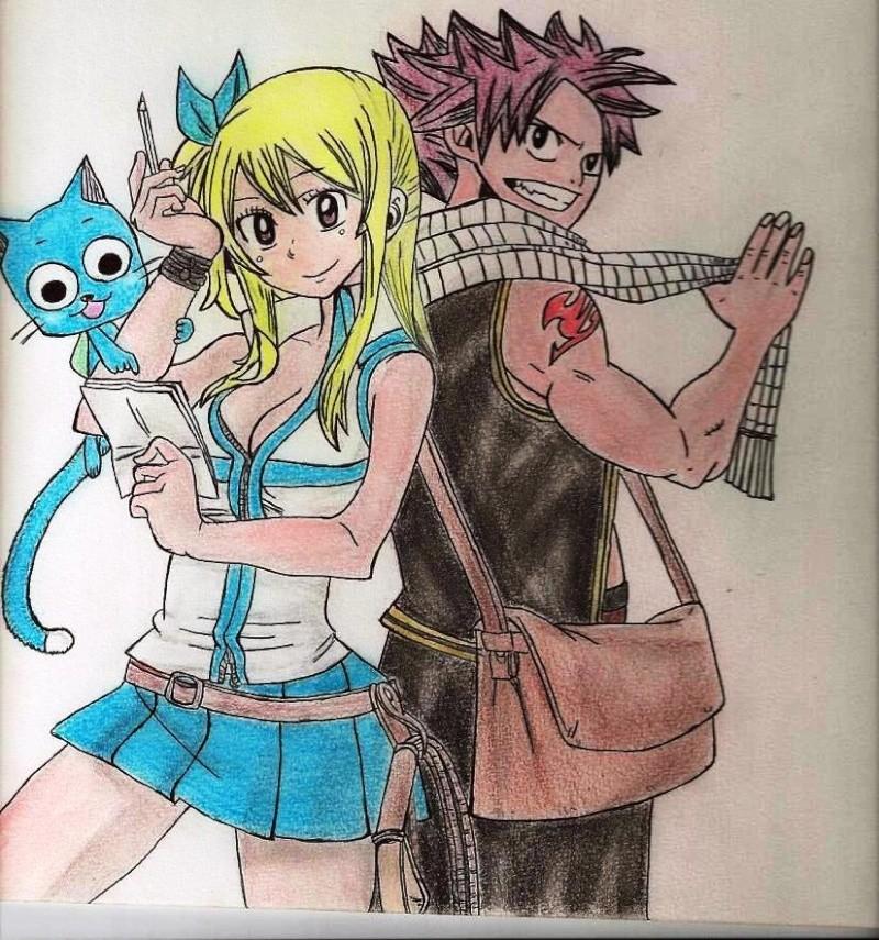 Mes dessins de Fairy Tail Natsu_15