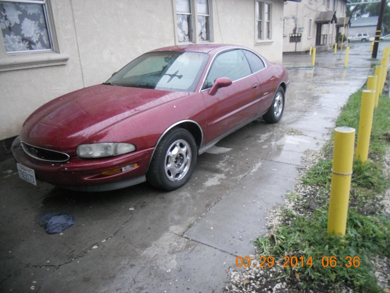 My 95 Riviera and fresh paint on the Supercharger Superc15