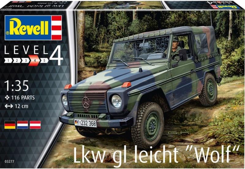 """LKw gl leicht """" WOLF """" 1/35 de REVELL 01394810"""