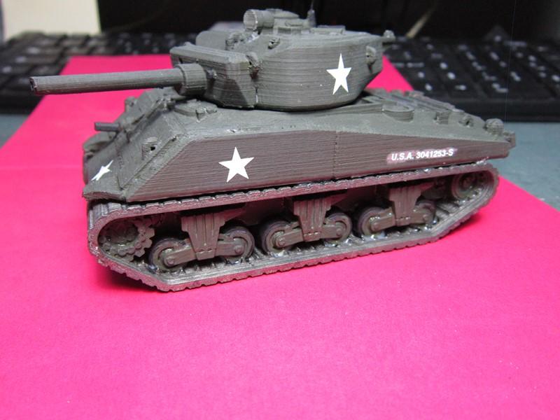 Sherman au 48 impression 3D Img_0143