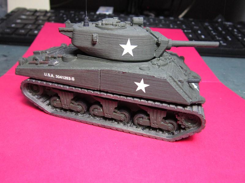 Sherman au 48 impression 3D Img_0144