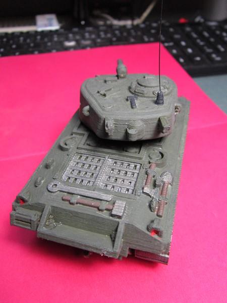 Sherman au 48 impression 3D Img_0146