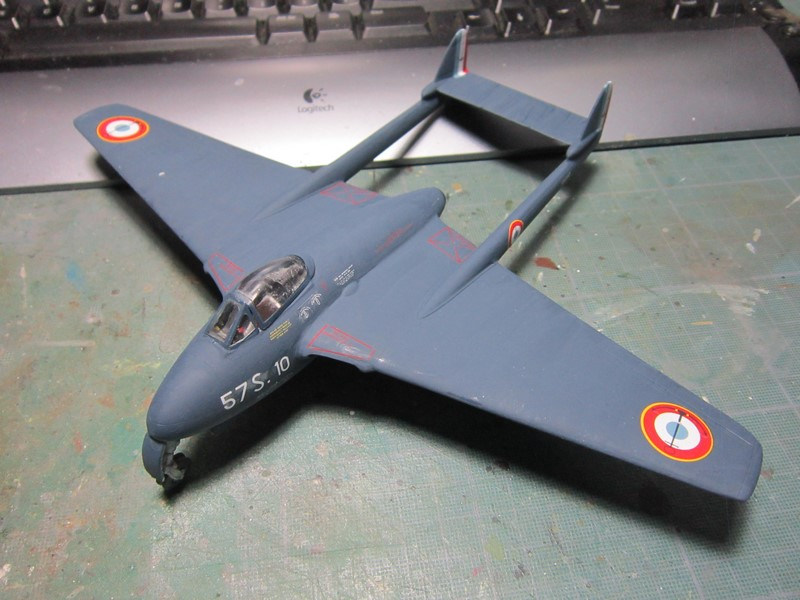 D.H Vampire A5(1/48 de classic airframes) Img_7525