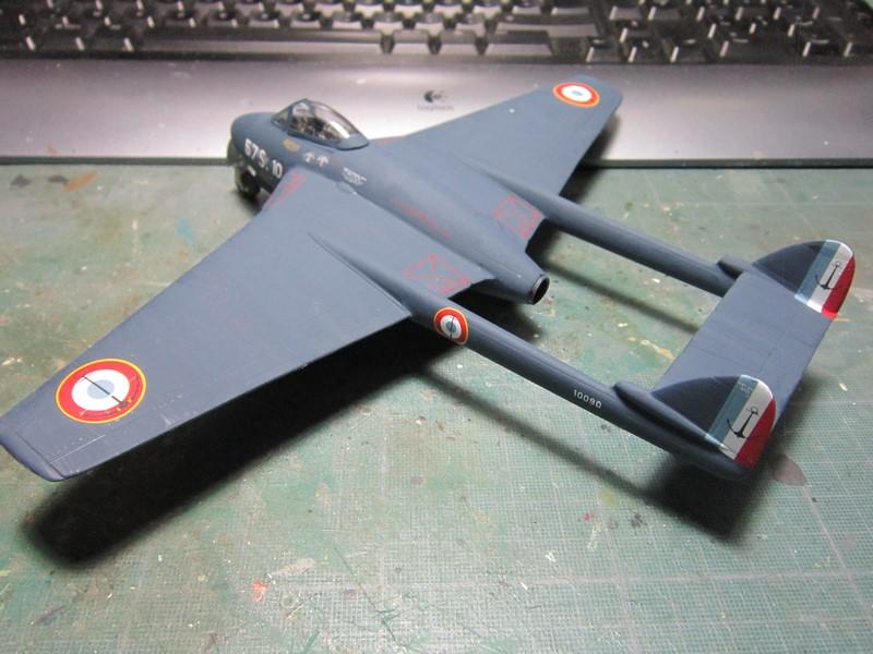 D.H Vampire A5(1/48 de classic airframes) Img_7527