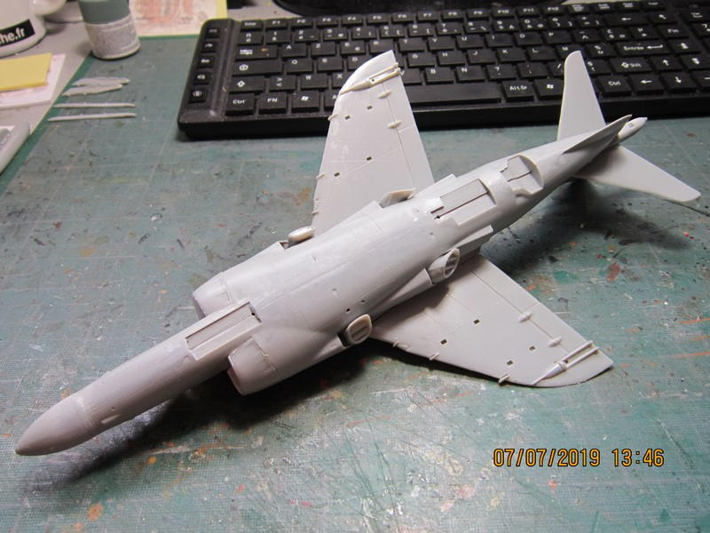 SEA Harrier FA2 au 48° de Airfix (la fin) Img_8422