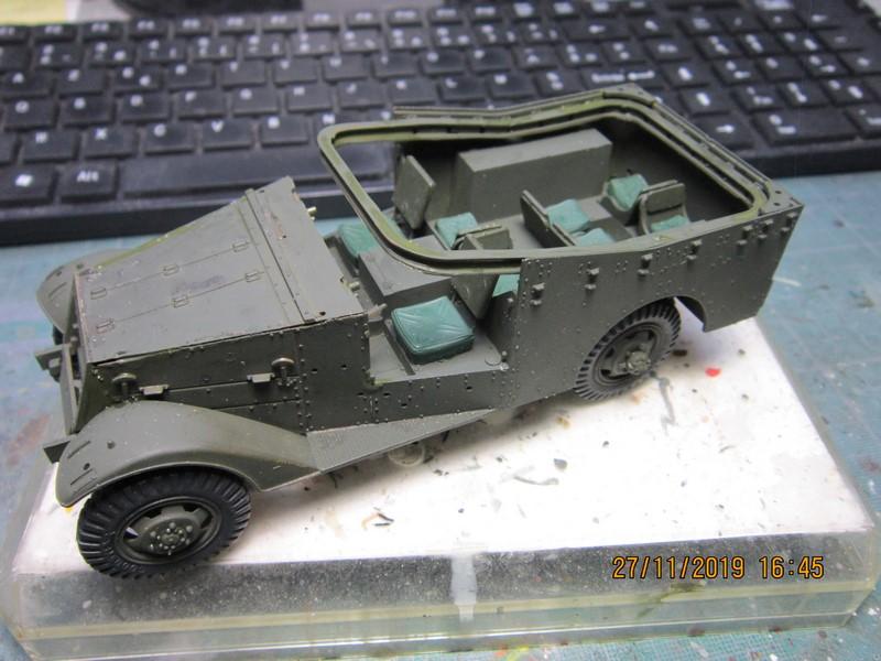 M3A1 Scout Car 1/35 de ITALERI  (Fini) Img_8925