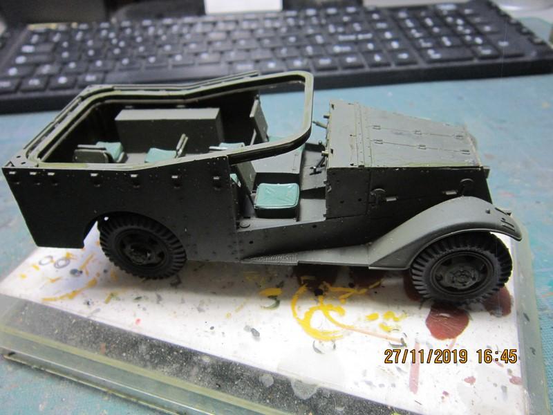M3A1 Scout Car 1/35 de ITALERI  (Fini) Img_8926