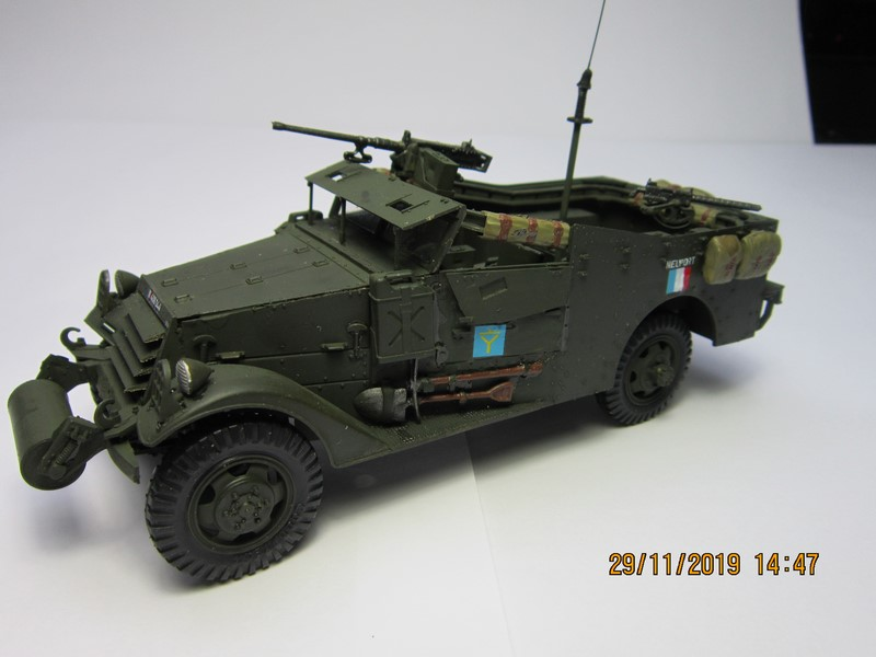 M3A1 Scout Car 1/35 de ITALERI  (Fini) Img_8940