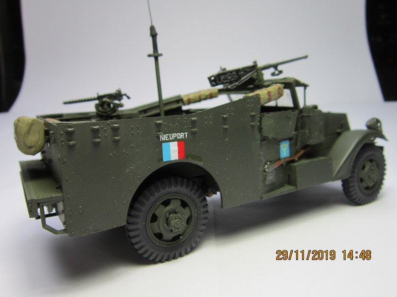M3A1 Scout Car 1/35 de ITALERI  (Fini) Img_8942