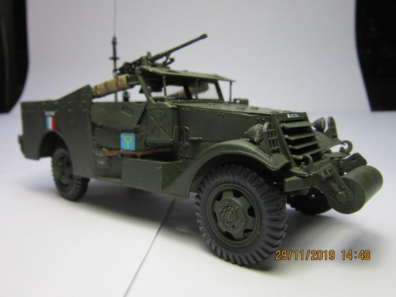 M3A1 Scout Car 1/35 de ITALERI  (Fini) Img_8944