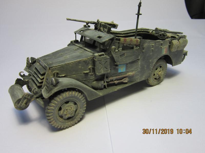 M3A1 Scout Car 1/35 de ITALERI  (Fini) Img_8948