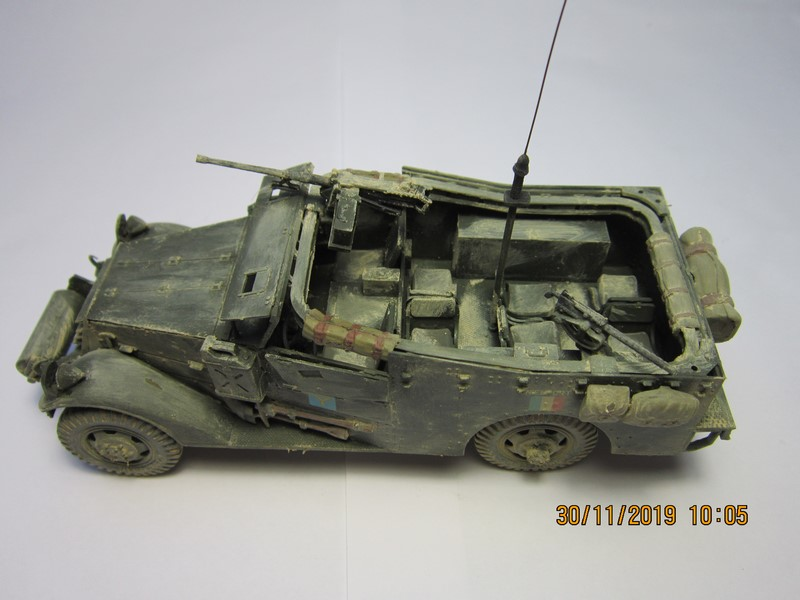 M3A1 Scout Car 1/35 de ITALERI  (Fini) Img_8951