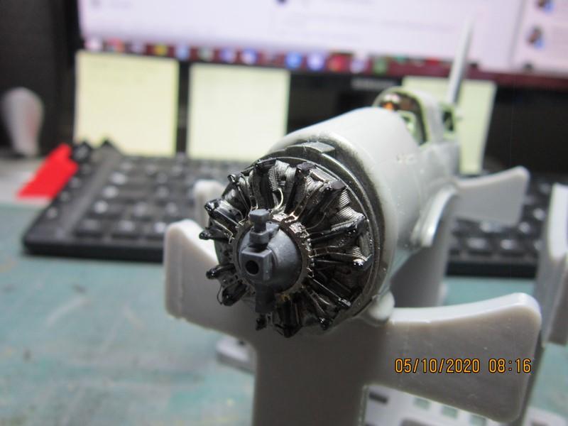 Curtiss SB2C-(4) 5 Helldiver au 48 de revell (fini) Img_9735