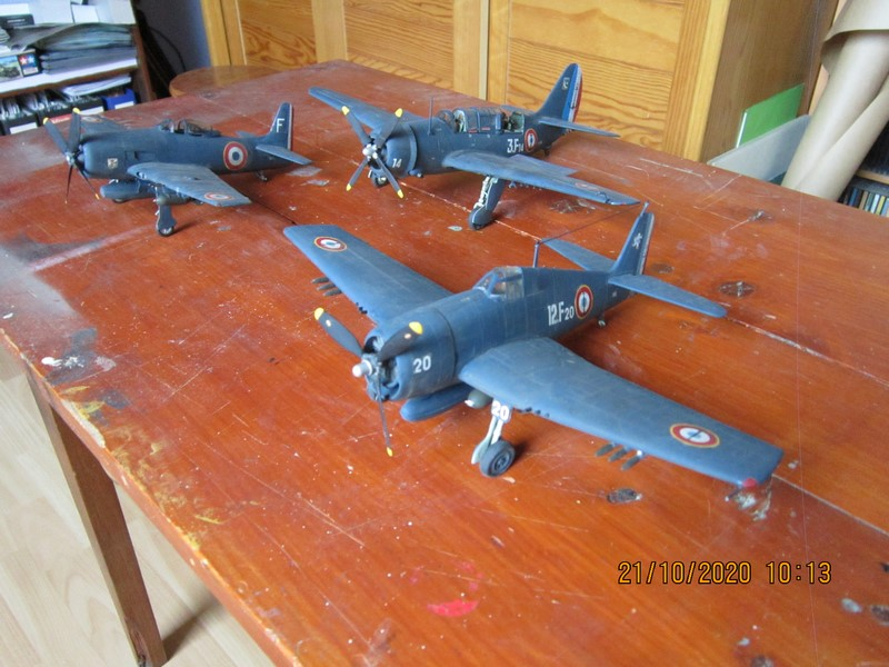 F8F-1B  bearcat au 48 de Hobby craft (le dernier de l'indo) (Fini) Img_9833