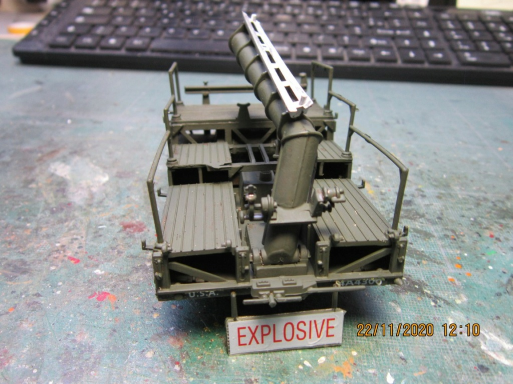 lacrosse missile with mobile launcher au 40 de Revell  (fini) Img_9932